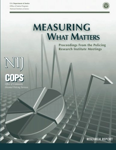 Measuring What Matters: Proceedings From the Policing Research Institute Meetings