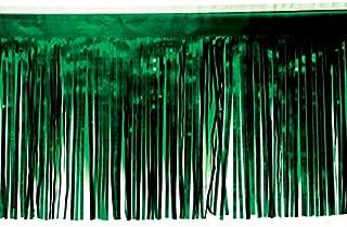 Dark Green Vinyl Fringe - 15