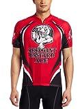 CANARI Cyclewear Men's Arrogant Bastard Jersey (Red, Large)