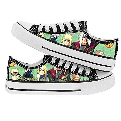 NLJ-lug Naruto Chaussures De Cosplay Chaussures en Toile Pantoufles,42