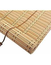 Roller blind Store en Bambou Naturel,Store Exterieur Enrouleur,Store Venitien Bois,Isolation Thermique/Respirant,pour Décoration Maison Intérieure,Bureau,Cuisine Rétro Store Fenetre Occultant