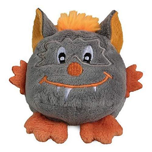 Vertrieb durch Poster38 Schmoozies® Monster dunkel grau Kuscheltier Schmusetier Stofftier Kinderspielzeug