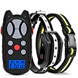 Flittor Shock Collar for Dogs, Dog Training Collar, Rechargeable Dog Shock...