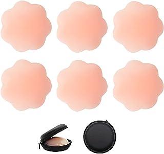 Flores VicSec Nipple Cover Nippelabdeckung invisible damas reutilizables 12PCS Brustwarpads estanco