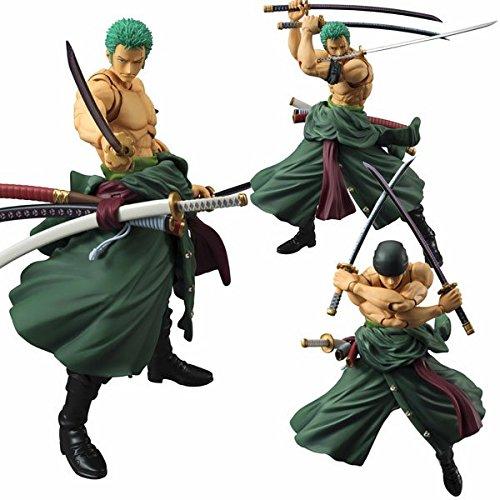 MegaHouse - Figurine One Piece - Roronoa Zoro Variable Action Heroes 18cm - 4535123819025