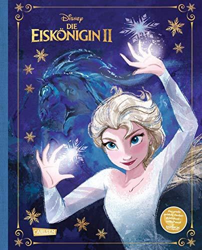 Disney Eiskönigin 2 - Das große goldene Vorlese-Bilderbuch: Das Buch zum Film mit Goldglanz, Leinenrücken und goldenem Lesebändchen