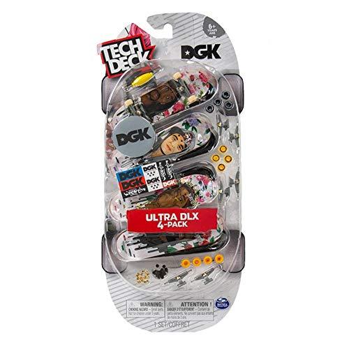 Tech Deck DGK Skateboards Fingerboard Ultra DLX, 4 Stück