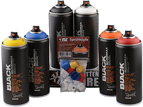 Montana Black 6x 400ml Wildstyle Sprühdosen Pack