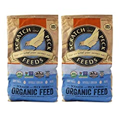 COMPLETE FEED FOR CHICKENS AND DUCKS USDA CERTIFIED ORGANIC AND NON-GMO PROJECT VERIFIED - Choosing products that are Certified Organic and Non-GMO Project Verified is the best way to ensure you are getting the safest, healthiest, and highest-quality...