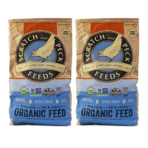 Scratch and Peck Feeds - Naturally Free Organic Layer Feed...