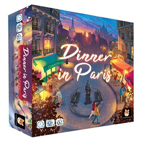 FUNNY FOX Dinner in Paris, Jeux de Plateau