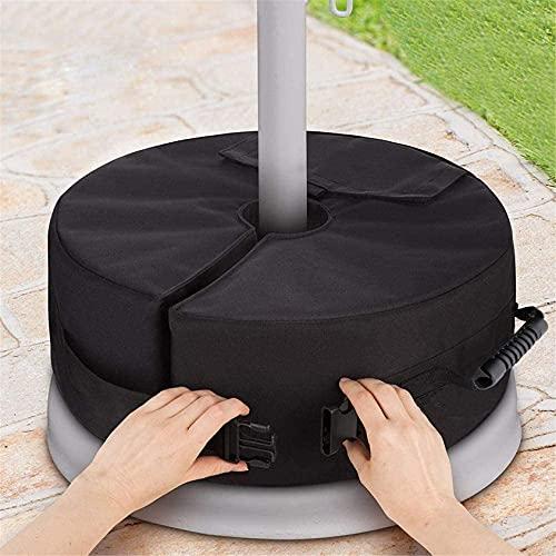 ZXMDP 2PCS Bolsa de Peso con Base de Paraguas con Asas, Sombrilla Resistente a la Intemperie Pesos de Arena Bolsas de Arena de Alta Resistencia para terraza al Aire Libre Playa