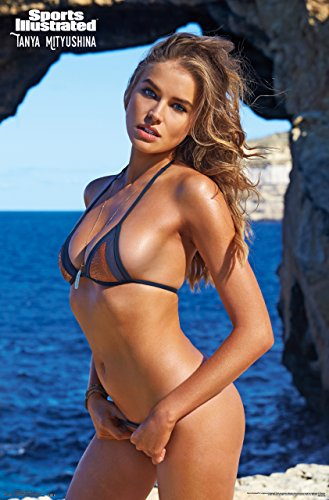 "Trends International Sports Illustrated Swimsuit Tanya Mityushina Wall Poster 22.375"" x 34"""