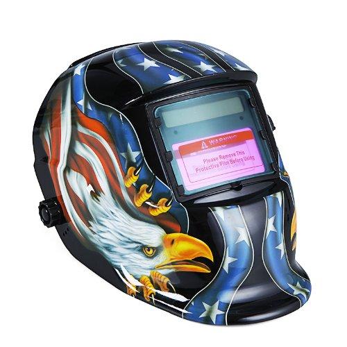 KKmoon Arc Tig Mig Grinding Eagle, Máscara de soldador de soldador de...