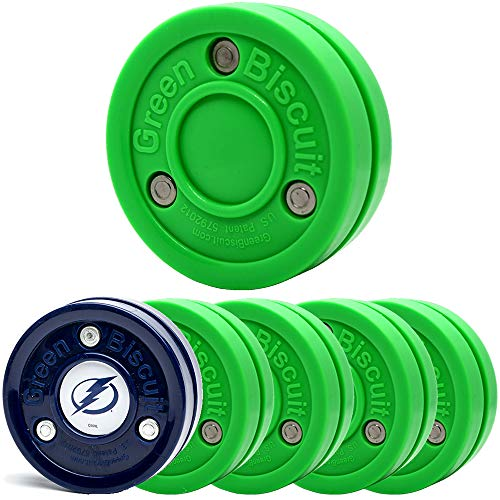 Green Biscuit 4 Pack Original Passer with NHL Puck GB Sticker