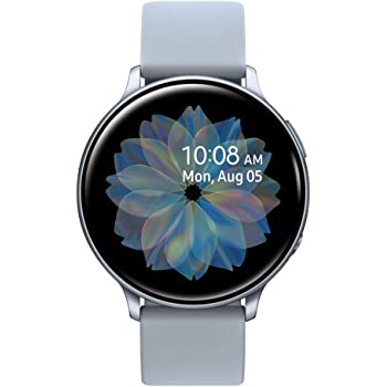 Samsung Galaxy Watch Active 2 (44mm, GPS, Bluetooth), Silver (US Version)
