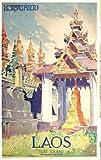 Poster Laos Asien That Louang, Format 50 x 70 cm, 300 g,