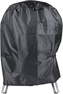 BBQ Grill Cover with Waterproof - Heavy Duty Kettle Cover Fits Most of Outdoor Cooking Gas Charcoal Grill Smoker (20.4D x ...