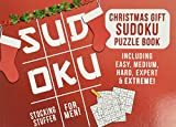 Stocking Stuffers for Men: Christmas Gift: Sudoku Puzzle Book Including Easy, Medium, Hard, Expert & Extreme