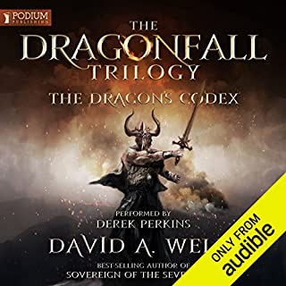 The Dragon's Codex audiobook cover art