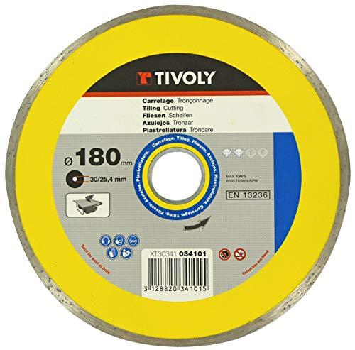 TIVOLY XT30341034101 Disque diamant d.180 lisse/machine électrique, Non Concerné