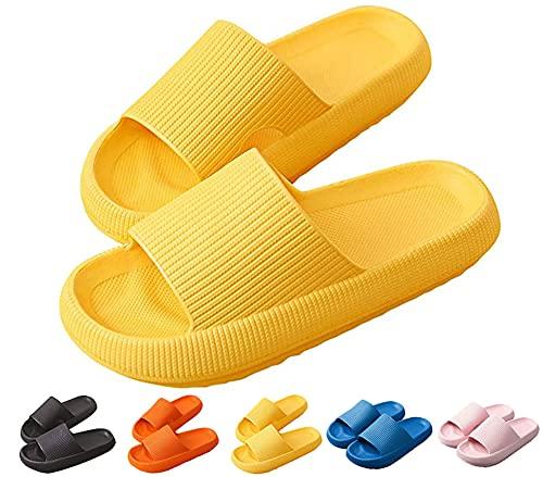Yutdeng Zapatos de Playa y Piscina Unisex Adulto Zapatos de baño Sandalias Interior Zapatillas Antideslizante Chanclas Bañarse Ducha Verano Mujer Hombre