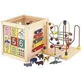 ぼん家具 ベビー玩具 ルーピング ビーズコースター 楽器 型はめパズル 迷路 ブロック 数合わせ