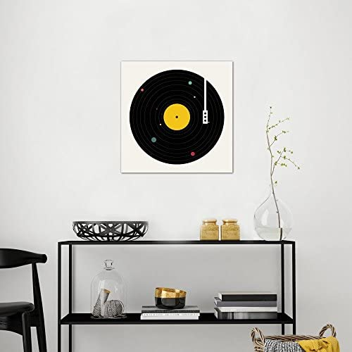 Icanvasart Icanvas Music Everywhere Gallery Wrapped Canvas Art Print By Florent Bodart 37 X 37 Posters Prints