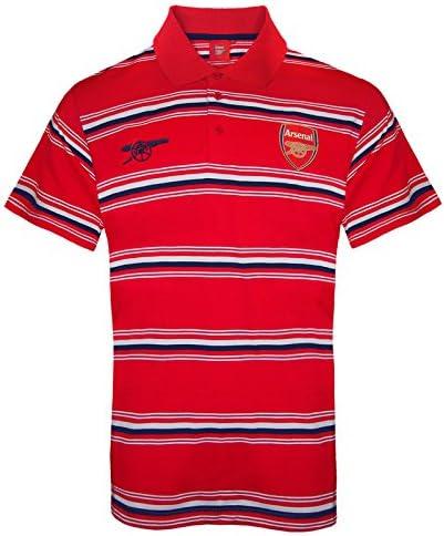 Arsenal FC - Polo oficial para hombre - A rayas