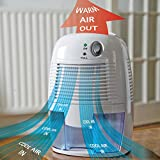 easylife lifestyle solutions Compact Peltier Dehumidifier - Large (1500ml) | H30xW22xD16cm