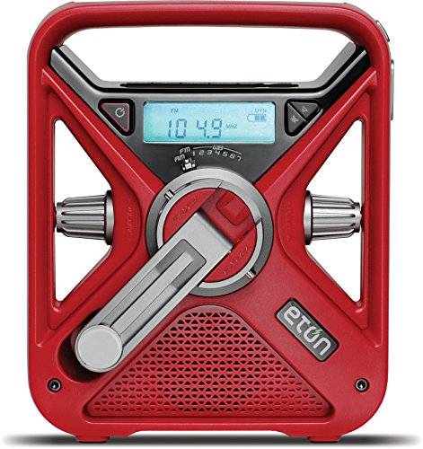 The American Red Cross FRX3 Hand Crank NOAA AM / FM Weather...