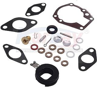 439071 Karbay Carburetor Repair Kit for Johnson/Evinrude New Carb Rebuild Kit 439071 0439071 Fit Johnson/Evinrude 1.5-20 Hp - 18-7043, 0382047, 0382046, 038204 (Using fluorelastomer))