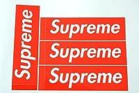 4枚セット 定番 SUPREME(シュプリーム) ステッカー ボックスロゴ box logo sticker