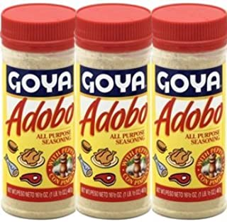 Goya Adobo All Purpose Seasoning, 8 Ounces (Pack of 3)