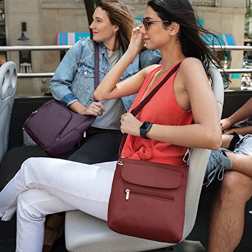 Travelon Women's Anti-Theft Classic Mini Shoulder Bag Sling Tote