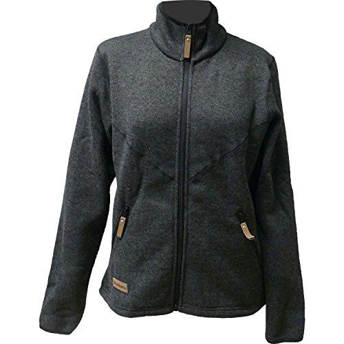 True North Damen 7916250-010 Outdoor Fleece Jacke TN Flatfleece Jacket Black - XL