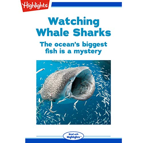 Watching Whale Sharks audiobook cover art