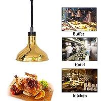 DAGCOT Resturantのキッチンビュッフェ、2のために29センチメートルめっきランプシェード伸縮シングルヘッドウォーマーランプと食品ウォーマーランプビュッフェ料理ヒートランプウォーマー食品加熱ランプコマーシャル (Color : 2)