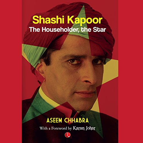 Shashi Kapoor audiobook cover art