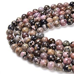 Matte Chrysocolla Gemstone 6mm Round Loose Stone Beads for Jewelry Craft Making