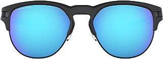 اوكلي نظارة شمسية للرجال ، عدسات ذات لون ازرق