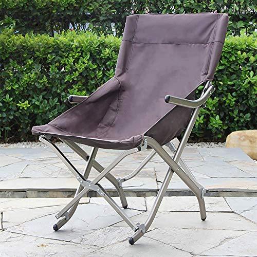 Silla de pesca plegable Silla para acampar Silla de jardín ultraligera-Silla compacta para exteriores con bolsa de transporte para actividades al aire libre, acampar, barbacoa, playa-47X48X81Cm-C