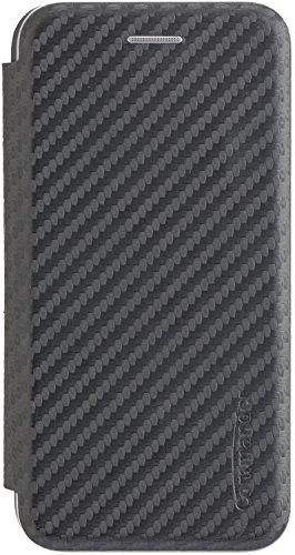 Commander SmartCase Noblesse Carbon Style für Apple iPhone 6/ 6S/ 7/8 Black