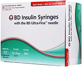 insulin syringes 30g 1cc
