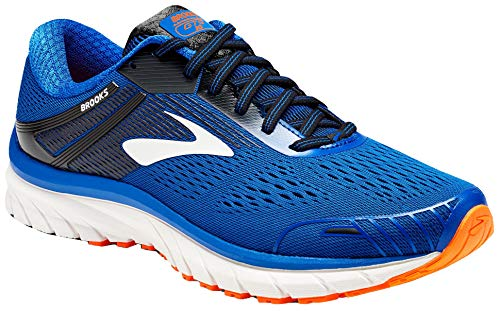 Brooks Herren Adrenaline Gts 18 Laufschuhe, Blau (Blue/Black/Orange 420), 42 EU