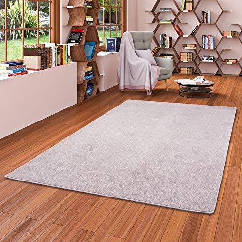 Snapstyle Luxus Soft Velours Teppich Shine Rosa in 24 Größen