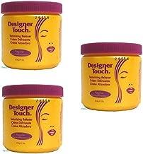 (PACK OF 3) Designer Touch Texturizing Relaxer (REGULAR) - 1lb Jar