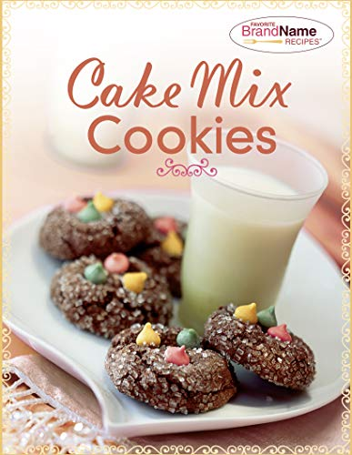 Cake Mix Cookies (Favorite Brand Name Recipes)
