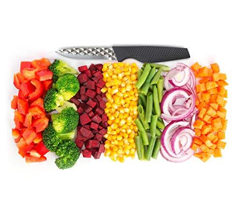 Mediashop Harry Blackstone Airblade Messer Set – scharfe und langlebige Küchenmesser – Kochmesser mit Antihaft-Klinge – Set aus 10 Messern für Jede Gelegenheit - 3