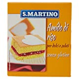 S.Martino - Amido di Riso Senza Glutine - Astuccio - 6 pezzi da 180 g [1080 g]